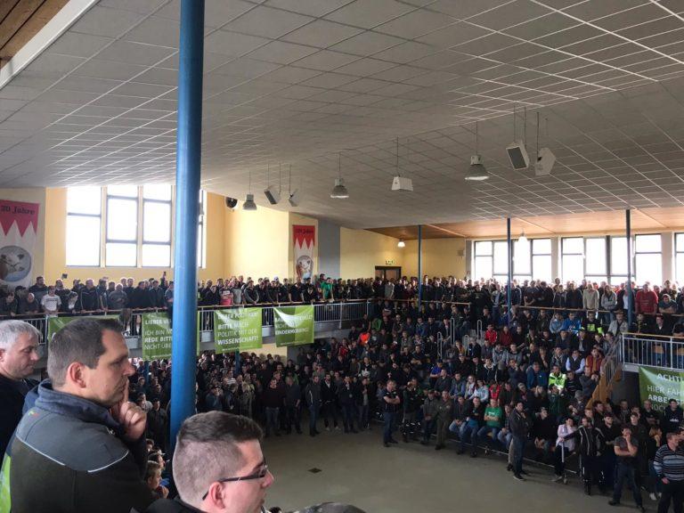 Versammlung der oberfränkischen Landwirte in Bayreuth