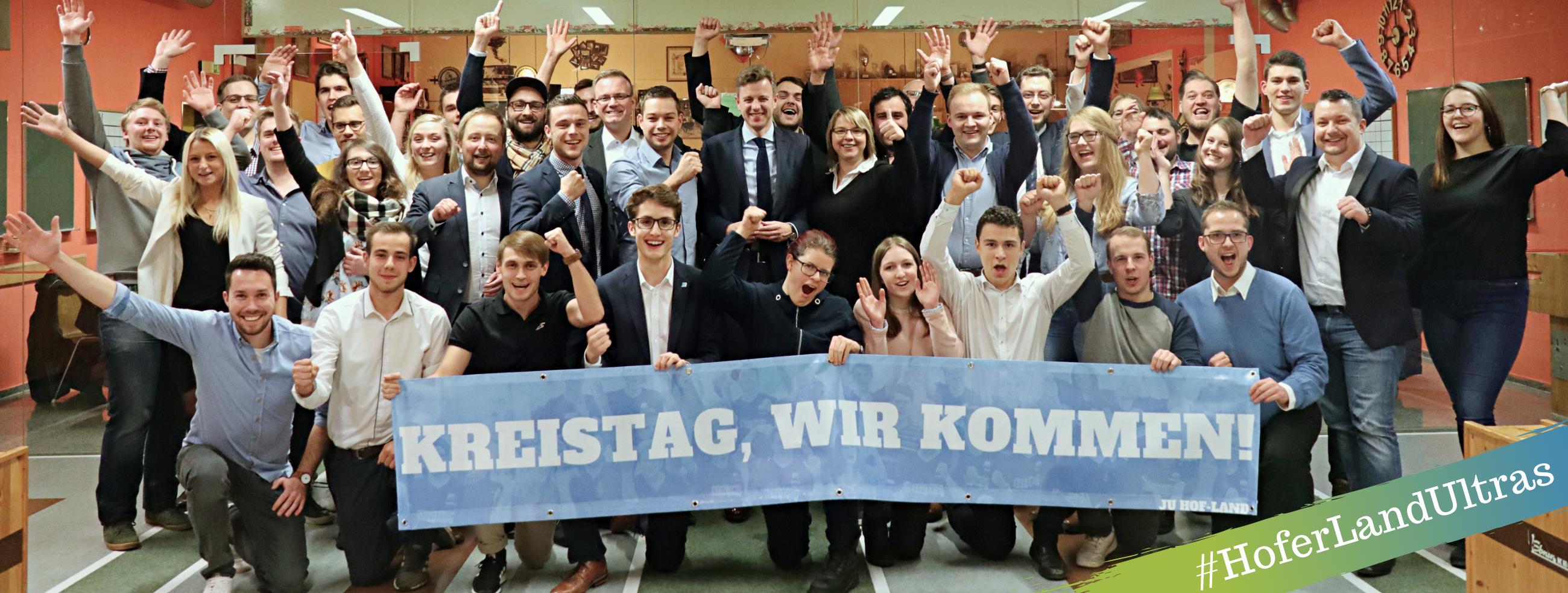 Nominierungsversammlung Junge Union Hof-Land