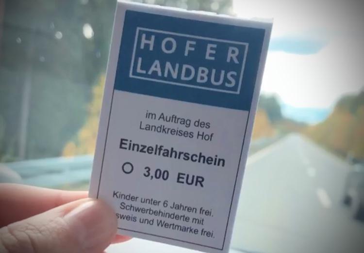 Hofer Landbus Ticket