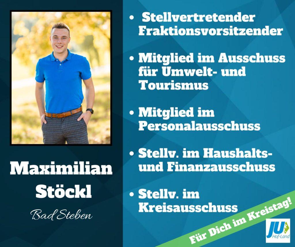 Maximilian Stöckl Kreisrat
